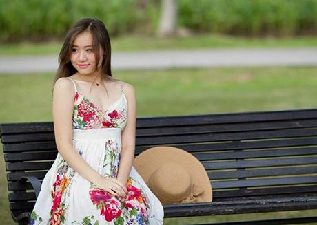 Du học sinh tại Singapore Lê Thị Ngọc Vân