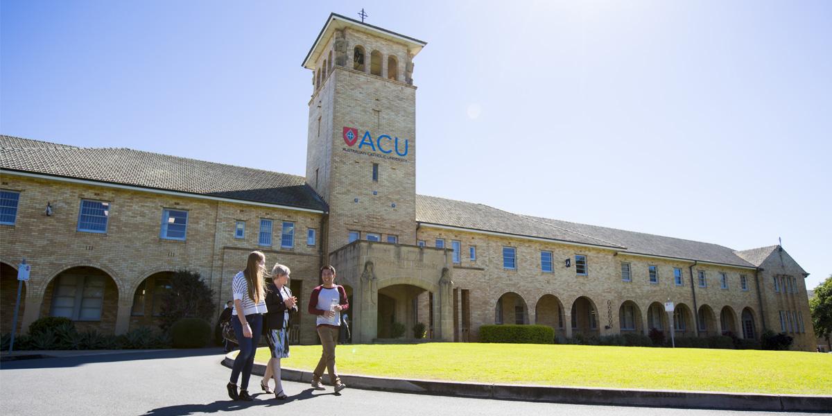 Kết quả hình ảnh cho Học bổng lên đến 50% học phí từ Australian Catholic University (ACU)