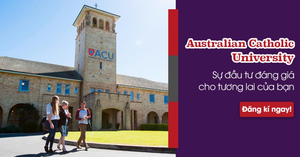Khám phá 5 ngành học được đánh giá tốt nhất  tại Australian Catholic University