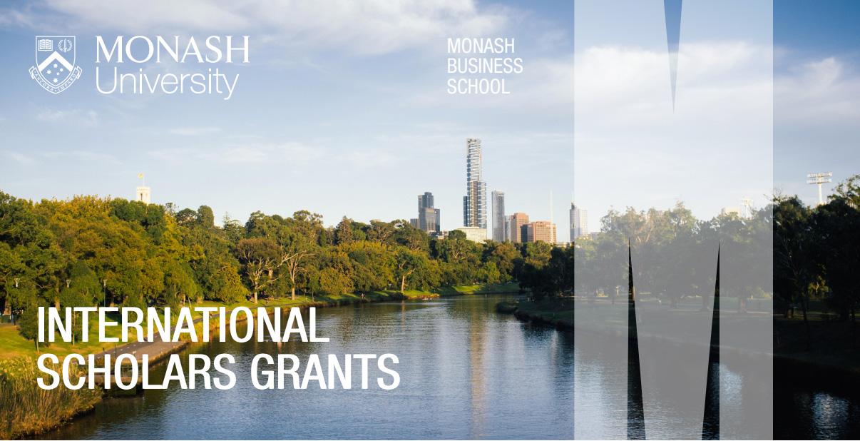 monash grants