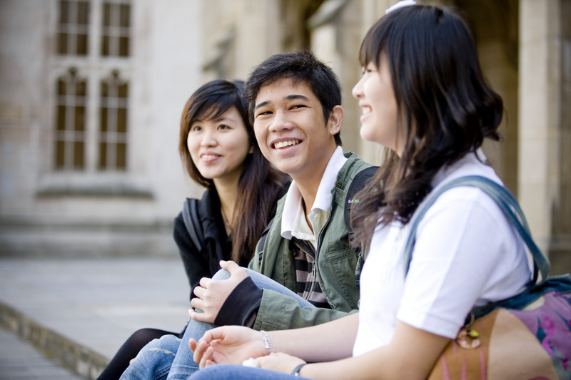 trinity college smiling faces