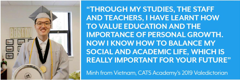 Valedictorian 2019 Tran Tuan Minh