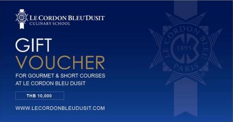 Du hoc Le Cordon Bleu gift voucher